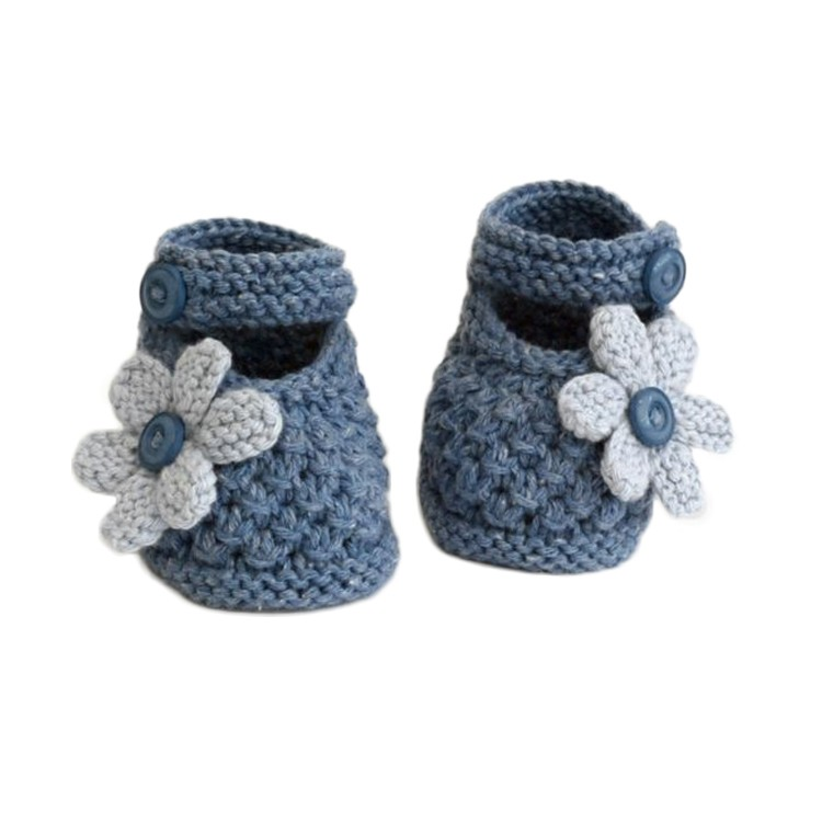 New arrival colorful design hand knitted shoes crochet baby booties