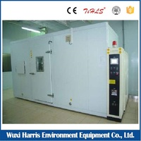 Walk in stability Climatic Test Chamber / Custom environmental rooms for cement life time testing