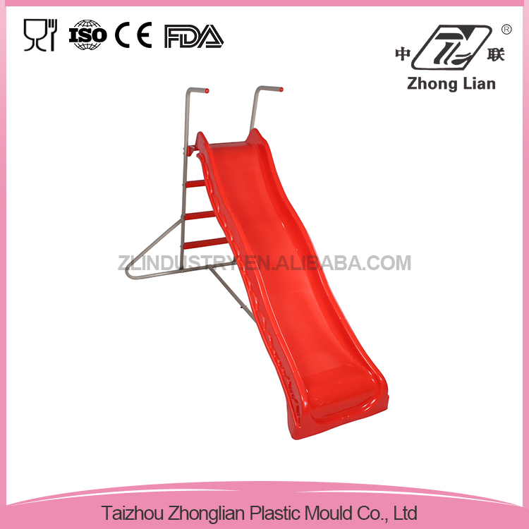 Hot-selling easily assembled children simple slide,children outdoor playground plastic slide set