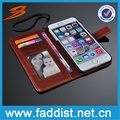 wallet case cover for iPhone 6 PU leather case book style