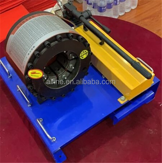 Reliable quality portable hydraulic hose crimping machine