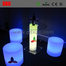 40*40*40cm flashing led ice cube with lighting
