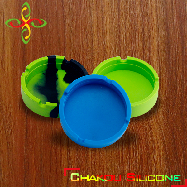 Hot Selling Smoking Accessories silicone ashtray for highttime,elegant decorative ashtrays, funny quit smoking ashtray