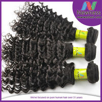 Grade AAAA 8-30Inch Indian Weft Remy Clip Extensions Kinky Curl Virgin Hair