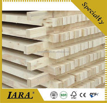 interior usage laminated mdf lvl door frame,e0 bed parts poplar lvl,wooden bed slats