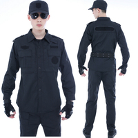 High quality custom working uniform, security guard uniform with unique safety protection