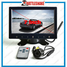 2014 Factory Wholesale super clear Image Long life span TFT 1080p 7 inch lcd monitor with hdmi av tv input