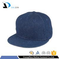Daijun China Factory OEM High Quality Min Order New Design Acrylic 100% Cotton Denim Custom Snapback Blank