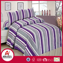 100% polyester microfiber pigment printed,ultra-soft and luxurious comforter set