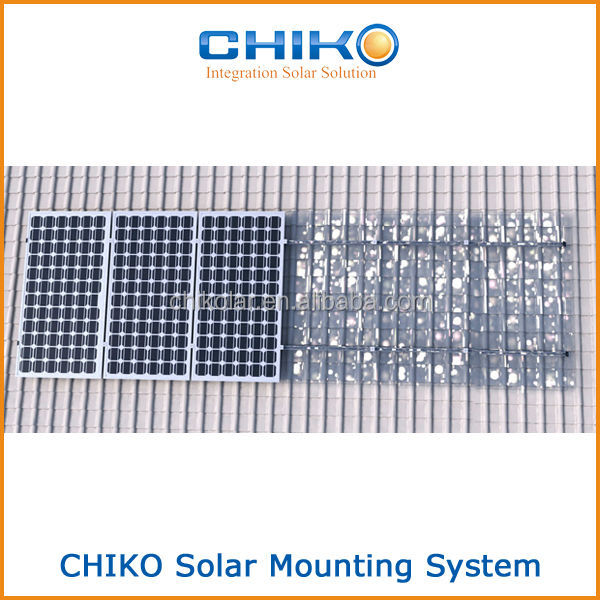 4kw Tile Roof Solar Mounting System