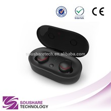 Touch panel control disposable wireless earphones bluetooth for mobile phones with best quality and low price