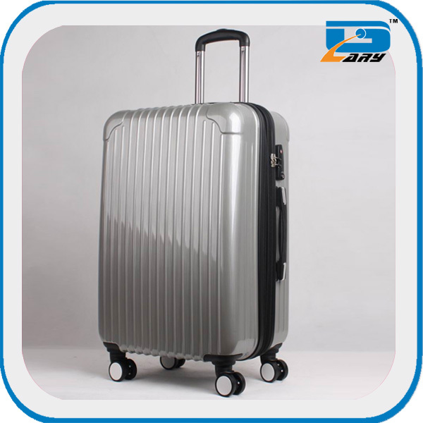 Leisure travelling trolley luggage with removable wheels