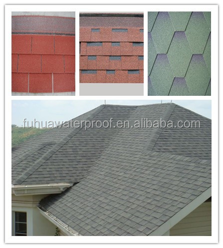 Factory sale asphalt roofing shingles price