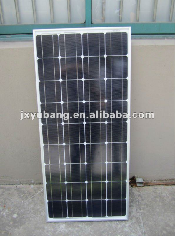 YB125M36-100W Cheap High efficiency 100W 12V Mono solar panel pv panel photovoltaic panel CE ISO Certified