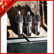 Custom designed motor rotating shaft,rotating gear shaft,rotating axis