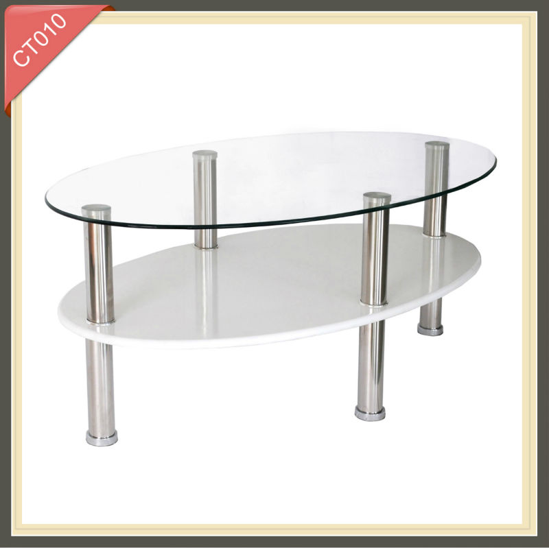 Living Room Furniture rising wire high gloss coffee table