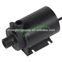 Brushless DC water pump for water coolant of computer