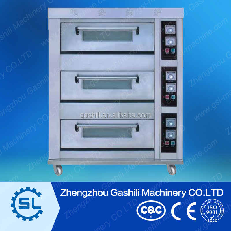 Chinese manufacturers Gas /Electric bakery oven for sale