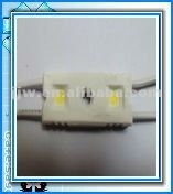 2012 Hot Sales! 2PCS LED Module SMD5050 Waterproof Injection Module SMD-2-22 WARM WHITE CE&ROHS DC12 Long Lifespan