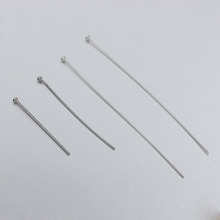 925 sterling silver pearl head pins,diy accessories for jewelry making