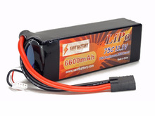 China11.1V RC lipo battery 3S 30C high discharge rc car hobby battery pack 6600mah