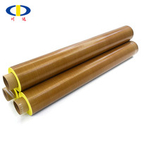 PTFE coated self adhesive tapes with yellow release liner
