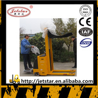 Full automatic walking standing oil drum fork lift stacker