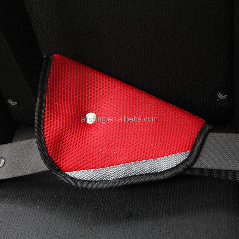 Car Child Safety Cover Shoulder Harness Strap Adjuster Kids Seat Belt Clip Child Resistant Safety Belt