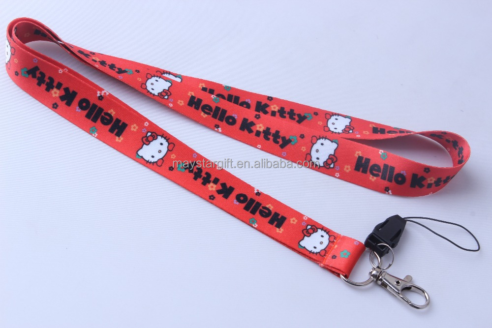 Cell phone wrist strap lanyard for promotions