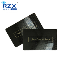 Shenzhen manufacturer CR80 Plastic PVC business gift card with envelope
