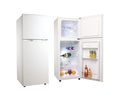 175L Home or Hotel Use Upright Double Door Refrigerator Freezer Fridge Compressor With Combined Freezer