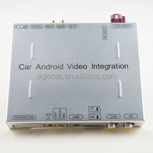 Android Interface for Toyota Touch 2 go car model with I-cloud service