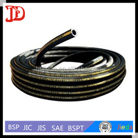 High Pressure Steel Wire Braided Flexible Hose ,Automotive Air Conditioning Rubber Hose
