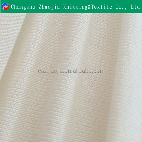 China eco friendly textile factory 100% Cotton/ Model Rib With Spandex from china manufacturer