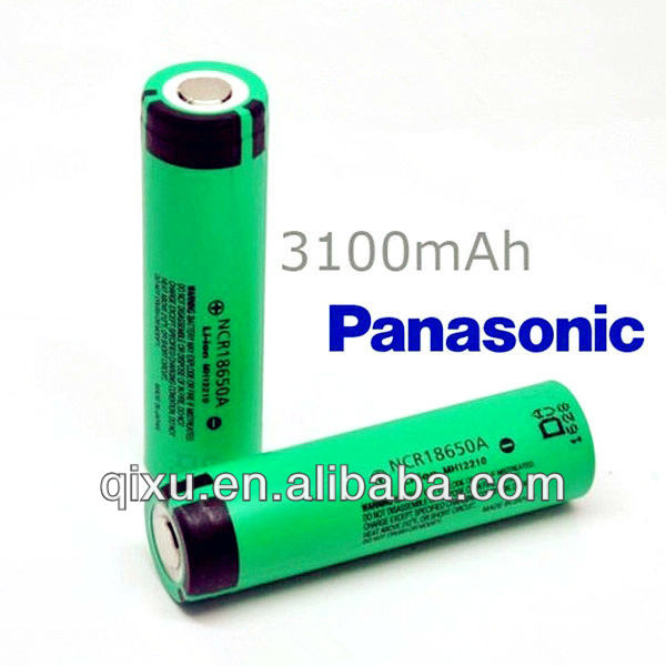 Genuine 18650 Panasonic li-ion battery NCR18650A panasonic car battery 3100mAh Rechargeable Battery with PCB