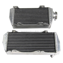 best selling aluminum Motocycle Radiator for SUZUKI RMZ450 2007