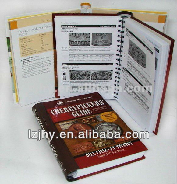 hardcover books in lithograph