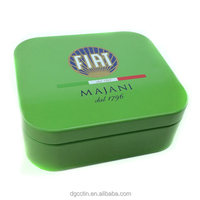 offset printing CMYK rectangular metal battery pack containers