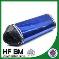 China factory directly sell 125cc, 150cc, 250cc used motorcycle exhaust, motorcycle exhaust muffler