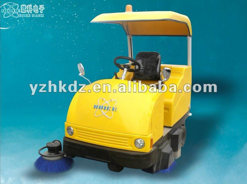 HK-1550B cleaning small street mobile sweeper