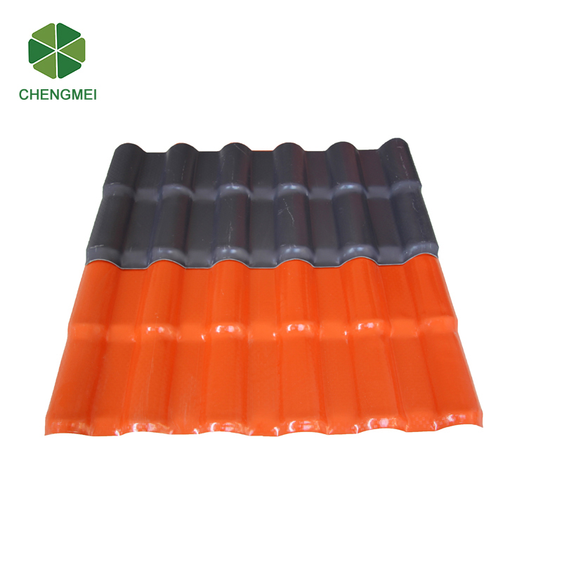 wavy synthetic resin residential roof tiles malaysia