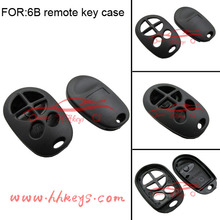 Toyota Vios Keyless Remote key Case Toyota 6 button best Plastic without Remote rubber