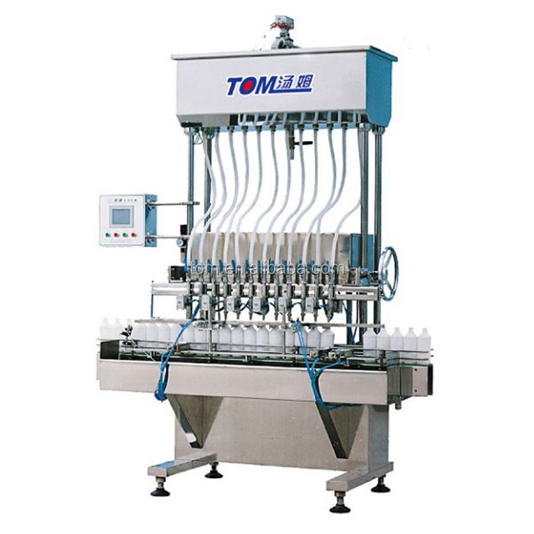 Cost effective special designed auto aerosol can filling machine