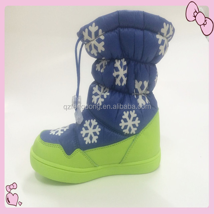 2017 fational high quality cheap snow boots for children.