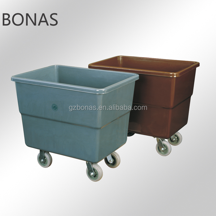Hotel housekeeping carts linen trolley service cart, hotel room service cart