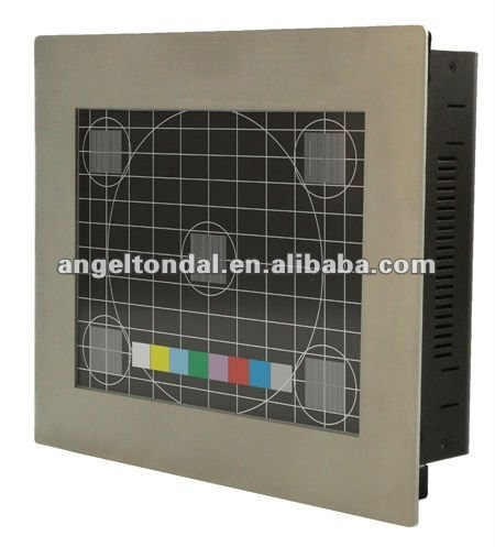 6.5 inch industrial lcd monitor/industrial panel pc