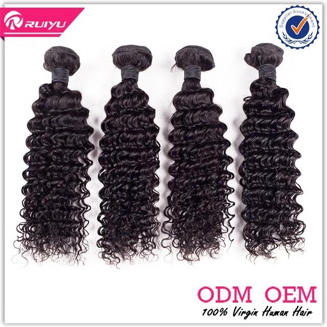 Gold supplier 7a grade quality peruvian deep curly wavy hair