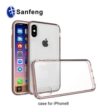 For iPhone 8 Phone Case Cover,Shocproof PC TPU Bumper Mobile Phone Case For iPhone 8