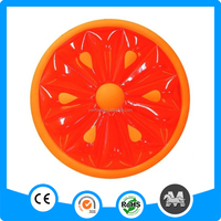 Water fruit float inflatable swimming fruit slice raft