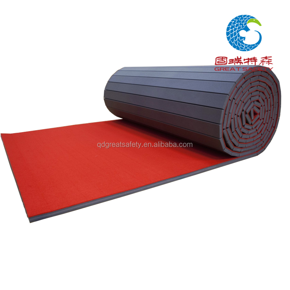 flexi roll folding exercise mat Gymnastics Mats floor carpet mat